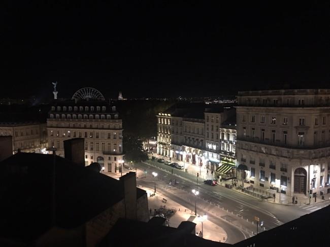 Roof top du Grand Hotel à Bordeaux